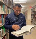 Ricardo Delgado Solis at UCR Library