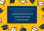 Care invitation of the CHST Department Virtual Graduation Ceremony on May 26th, 2021 at 3:00PM - 4:00PM