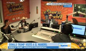 "Screenshot from a broadcast of ""Un Nuevo Dia"" on Telemundo (telemundo.com)"