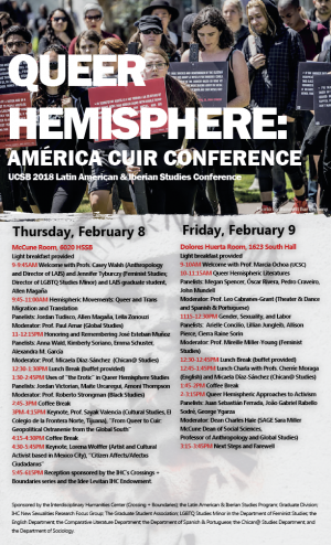 Queer Hemisphere Conference Flier