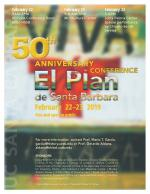 50th Anniversary Conference flyer